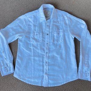 Guess men button down shirt size medium